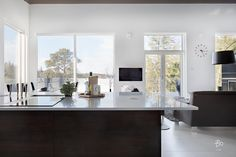 Bo LKV Interior Styling, Home Kitchens, Kitchen Dining, Sweet Home, Cottage, Table, House, Furniture, Kitchen Ideas