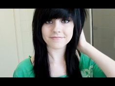 Cutting My Hair & Fringe (Bangs) Emo / Scene Style by EmmaxMaree  I WANT THIS HAIR STYLE SO BADLY ASDFGHJKL;'
