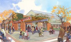 architectural rendering - private school capital fundrasing