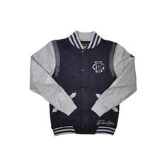 EXCLUSIVE GAME HUSTLIN NEVER STOPS VARSITY JKT(NAVY)