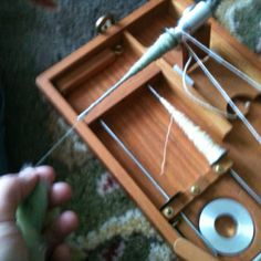 Spinning on a Charkha