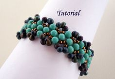 Tutorial Aruba Blue Bracelet