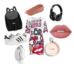 Designer Clothes, Shoes & Bags for Women Beats By Dr, Lime Crime, Stella Mccartney, Babe, Chanel, Adidas, Shoe Bag, Polyvore, Stuff To Buy