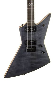 Chapman Guitars New Rob Chapman signature Ghost Fret, pictured here in Satin Black.