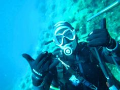 Eudiselfie for Eudishow #scubadiving scuba diving