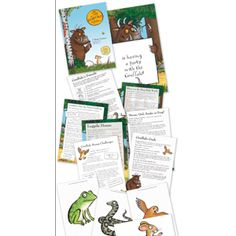 The Gruffalo: The Gruffalo Party Games Gruffalo Activities, Gruffalo Party, The Gruffalo, Craft Activities For Kids, Crafts For Kids, 1st Birthday Parties, 3rd Birthday, Gruffalo's Child, Story Sack