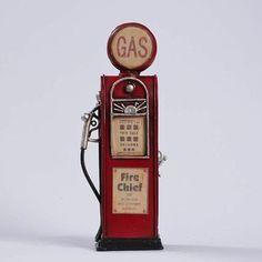 Miniatura Bomba Gasolina Antiga