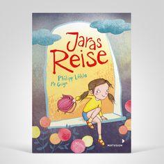 Philipp Löhle / Pe Grigo: Jaras Reise. Mixtvision Verlag. #kinderbuch #illustration #abenteuer #freundschaft #reise