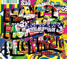"""HAPPY MONDAYS - Pills n Thrills and Bellyaches LP 1990 / I""""m feeling slightly sick, another beauty from Central Station based in Manchester. Uk Music, Good Music, Black Grapes, Candy Companies, Creative Review, Britpop, Joy Division, Music Magazines, Music Images"""