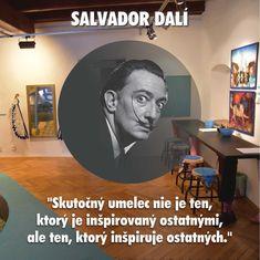 Príďte sa inšpirovať nielen umením Salvadora Dalího na výstavu Izmy a izby do Galérie Kolomana Sokola. Salvador Dali, Fictional Characters, Art, Art Background, Kunst, Performing Arts, Fantasy Characters, Art Education Resources, Artworks