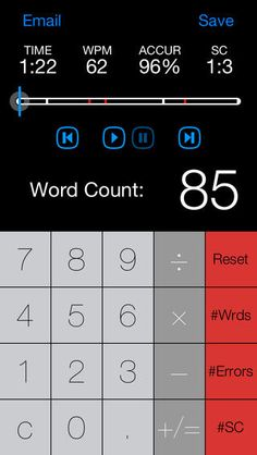 Running record calculator stop watch recorder app$
