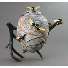 Del Mano Gallery Hot Tea! 2015 - An Exhibition of Art Teapots Michael Kehs