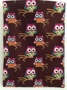 Brown Owl Trash Bag Organizer by horsecrazy4sure on Etsy, $10.00