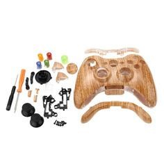 Hot-selling Plastic Wireless Gamepad Case Game Player Controller Box Shell Replacement Parts Shock-resistant Dust-proof + Buttons Cover for XBOX 360
