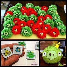 angry birds party favors | Lots of Angry Bird Party Tutorials via Moments with the Montano's