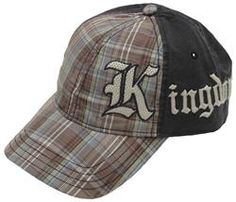 Chazz Plaid Kingdom Cap - For high-quality, comfortable, and God-honoring garments, look no further than Camp David Faith, an apparel line that believes the perfect way to express your faith is through your clothing. Combining creative graphics and Bible-based messages, Camp David Faith is your ultimate source for casual wear that stands out from the crowd!