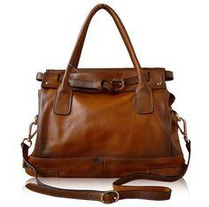sac en cuir Retro messenger sac à main/sac à main par vintagebag624