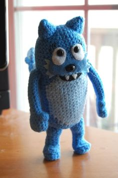 Toodee Yo Gabba Gabba Amigurumi DOLL wish that I could either do this, or find someone who could do this for me! This is so cute