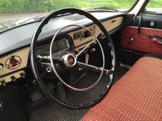 1968 Tatra 603 interior