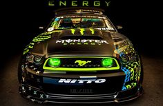 Nitto Tire// Monster Energy //Ford Mustang RTR// Vaughn Gittin Jr //