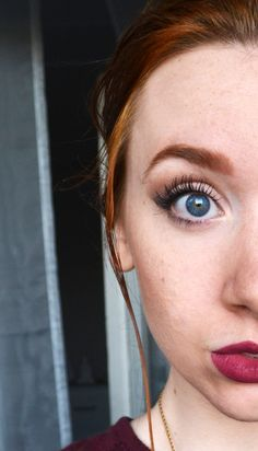 redhead spring/autumn makeup for pale gingers