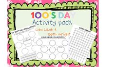 Made In The Shade In 2nd Grade: 100th Day FREEBIES Part 2!