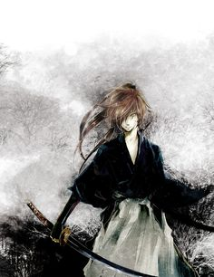 Gorgeous kenshin fanart!! <3