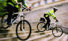 Police use other means of transportation besides police cars because in small areas like parks bicycles are more efficient. Basicly the police officer needs to master his or her vehicle to be used in the community successfully.