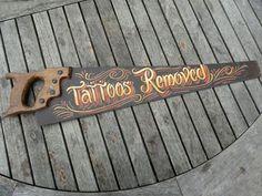 Resultado de imagen de vintage tattoo advertising