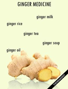 WAYS TO USE GINGER AS MEDICINE