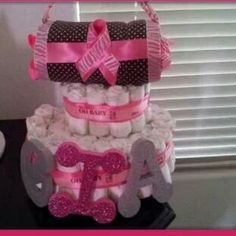 layer purse diaper cake...is a special twist on by PhanCFhavors, $55.00