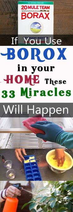 If You Use Borax In Your Home These 33 Miracles Will Happen | Borax Uses #fitness #beauty #hair #workout #health #diy #skin