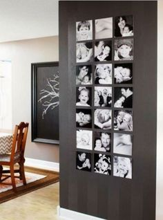 55 ausgefallene Bilderwand und Fotowand Ideen - Gallery Wall Inspirations - Pictures on Wall ideas