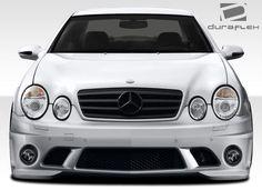 1998-2002 Mercedes CLK W208 Duraflex C63 Look Front Bumper Cover - 1 Piece
