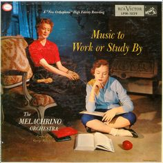 The Melachrino Orchestra - Music to Work or Study By (1954)