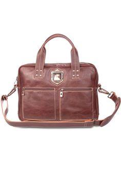 Leather work bag for laptop Nordweg... Bolso de trabajo para portátil en piel Nordweg...