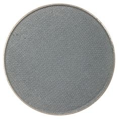 Makeup Geek Eyeshadow Pan - Stealth is a medium gray with strong slate blue undertones and a matte finish