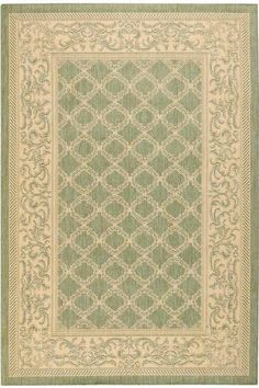 Entwined All-Weather Area Rug  Add Style to Your Deck, Porch or Patio with Outdoor Rugs  Item # 34101