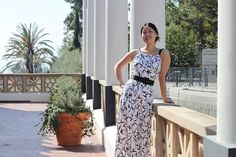 maxi dress tutorial- would be cute with a t-shirt underneath, or at least cap sleeves added! :)