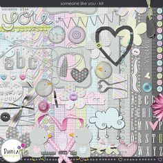 Someone Like You - Kit by Dunia Designs