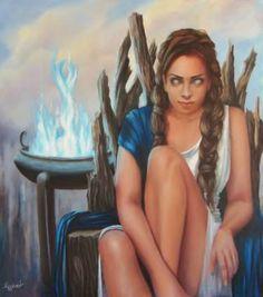 "Saatchi Art Artist ΑγγελικΗ Aggeliki; Painting, ""Nuda Veritas"" #art"