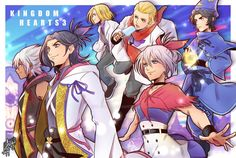 [Kingdom Hearts Youngsters by on DeviantArt Kingdom Hearts 3, Kingdom Hearts Characters, Kingdom 3, Kingdom Hearts Nobody, Union Kingdom, Cry Anime, Anime Art, Heart Projects, Girls Anime