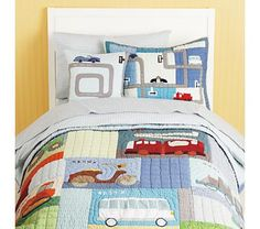 adorable truck bedding. Do I order now and hope Ben likes trucks, or do I wait and hope they still sell this in 2 years...