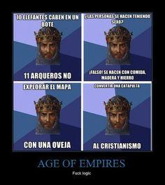 "La extraña lógica de ""Age of Empires"""