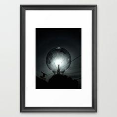 Let it Shine Framed Art Print