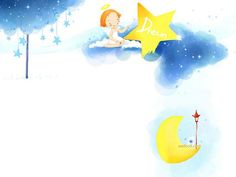 Sweet Childhood - Colorful Children illustrations by Kim Jong Bok - Happy Childhood - Sweet Girl Art Illustration Wallpaper 19