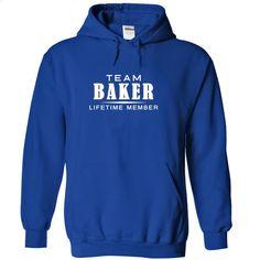 Team BAKER, Lifetime member T Shirt, Hoodie, Sweatshirts - design your own t-shirt #style #T-Shirts