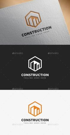 Buy City Buildings Logo by i_Russu on GraphicRiver. City Buildings Logo: multipurpose logo can be used for construction company, real estate Agency, construction compani. Real Estate Logo Design, Design Logo, Branding Design, Ci Design, Construction Company Logo, Construction Logo Design, Logo Hexagone, Arquitectura Logo, Carte De Visite