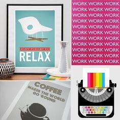 10 Work-Themed Etsy Prints to Display at Your Desk - www.savvysugar.com