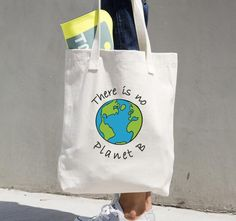 This reusable shopping tote bag was created for the environment conscious person. If you are a tree hugger, this bag is for you. Every day millions of plastic bags are being used and thrown away all o